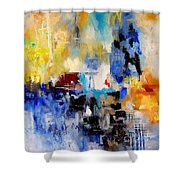 Abstract 900003 Shower Curtain