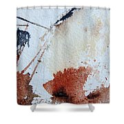 Abstract 9037 Shower Curtain