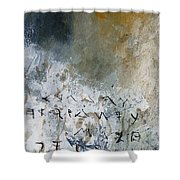 Abstract 904023 Shower Curtain