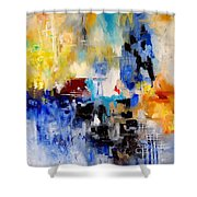 Abstract  905003 Shower Curtain