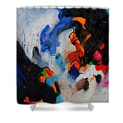 Abstract 905060 Shower Curtain
