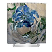 Abstract 9094 Shower Curtain