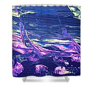 Abstract 9097 Shower Curtain