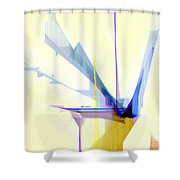 Abstract 9503-001 Shower Curtain