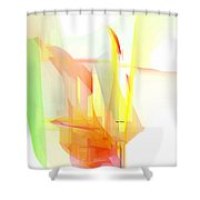 Abstract 9508 Shower Curtain