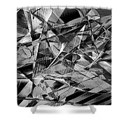 Abstract 9637 Shower Curtain