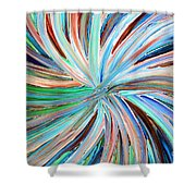 Abstract A331716 Shower Curtain
