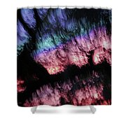 Abstract Accident Shower Curtain