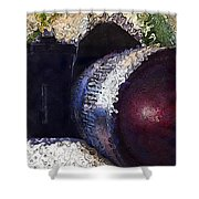 Abstract Analog Camera Shower Curtain
