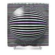 Abstract Art 6 Shower Curtain