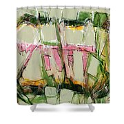 Abstract Art Fifty-six Shower Curtain
