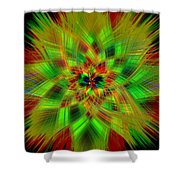 Abstract Art IIi Shower Curtain