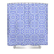 Abstract Art - Lavender Shower Curtain