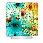 Abstract Art - Possibilities - Sharon Cummings Shower Curtain