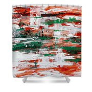 Abstract Art Project #24 Shower Curtain
