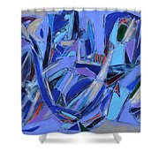 Abstract Art Twenty-four Shower Curtain