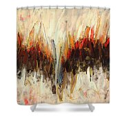 Abstract Art Twenty-one Shower Curtain