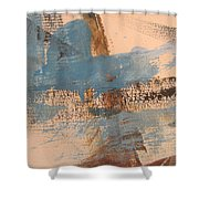 Abstract At Sea 4 Shower Curtain