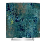 Abstract Back Cover Design  Shower Curtain