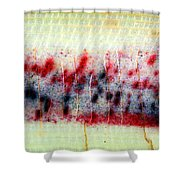 Abstract Banana Trunk 3 Shower Curtain