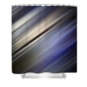 Abstract Blurred Blue And Gray Background Shower Curtain