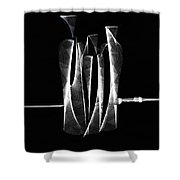 Abstract Bottles  Shower Curtain