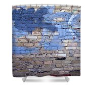 Abstract Brick 3 Shower Curtain