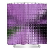 Abstract By Paint Pro X9 # 27 Shower Curtain