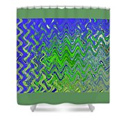 Abstract By Photoshop 50 Shower Curtain