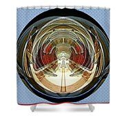 Abstract Classic Car Shower Curtain
