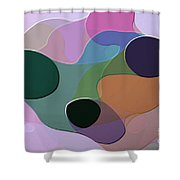 Abstract Collection 018 Shower Curtain