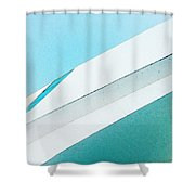 Abstract Color Of Architecture Shower Curtain