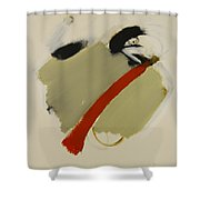 Abstract Composition 11 Shower Curtain