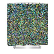 Abstract Composition No. 13 Shower Curtain