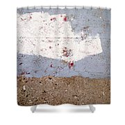 Abstract Concrete 13 Shower Curtain