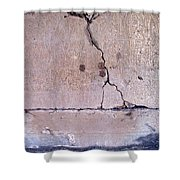 Abstract Concrete 3 Shower Curtain