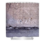 Abstract Concrete 4 Shower Curtain