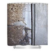 Abstract Concrete 5 Shower Curtain