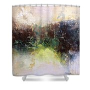 Abstract Contemporary Art Shower Curtain