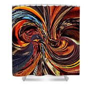 Abstract Delight Shower Curtain