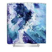 Abstract Division - 72t02 Shower Curtain