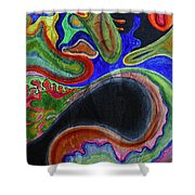 Abstract Dream Shower Curtain