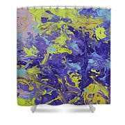 Abstract Duo Shower Curtain