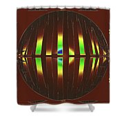Abstract Elements 715 Shower Curtain