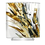 Abstract Expressionism Painting 79.082810 Shower Curtain
