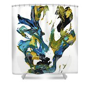Abstract Expressionism Painting Series 716.102710 Shower Curtain