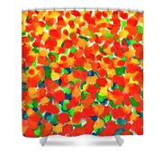 Abstract Field Shower Curtain
