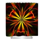Abstract Floral 032811 Shower Curtain