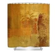 Abstract Floral - 14v2ct01a Shower Curtain