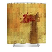 Abstract Floral - 14v2ft Shower Curtain